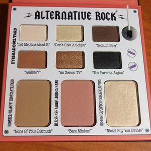 Alternative Rock volume 2 palette by the Balm